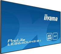 Iiyama ProLite LE8640UHS Digital Signage kijelző EEK: B (A+++ - D) 217.4 cm 85.6 coll 3840 x 2160 pixel 18/7 Iiyama