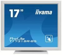 Iiyama ProLite T1731SR Érintőképernyős monitor 43.2 cm (17 coll) EEK A (A+++ - D) 1280 x 1024 pixel SXGA 5 ms Kijelző cs Iiyama