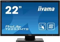 Iiyama ProLite T2253MTS Érintőképernyős monitor 54.6 cm (21.5 coll) EEK A (A+++ - D) 1920 x 1080 pixel Full HD Kijelző Iiyama