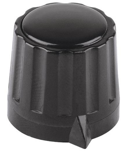 Forgatógomb Fekete (Ø x Ma) 36 mm x 18.5 mm
