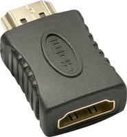 LINDY HDMI Átalakító [1x HDMI alj - 1x HDMI dugó] Fekete LINDY