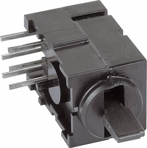 Mentor FEL billenőkapcsoló THT 1847.3032 2 x be/ki/be bennmaradó/0/bennmaradó 60 V/AC/DC 0,5 A