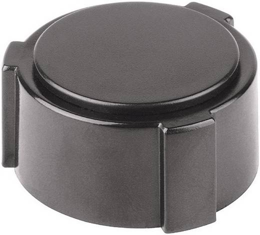 Forgatógomb, sapka gombhoz 28 mm fekete