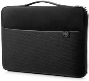 "HP Notebook tasak HP Carry Sleeve - Notebook-Hülle - 39.62 Alkalmas: Max.: 39,6 cm (15,6"") Ezüst, Fekete (3XD36AA#ABB) HP"