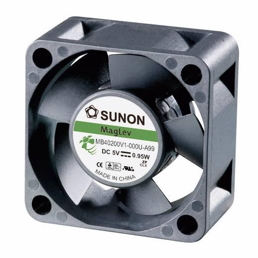 Axiális ventilátor (ipari), 12 V/DC 10.7 m³/h (Sz x Ma x Mé) 40 x 40 x 20 mm Sunon MB40201V3-0000-A99