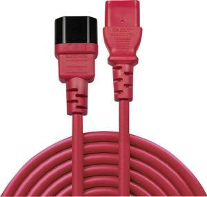 LINDY Áram Hosszabbítókábel [1x Hidegkészülék dugó, C14 - 1x Hidegkészülék alj, C13] 1 m Piros (30477) LINDY