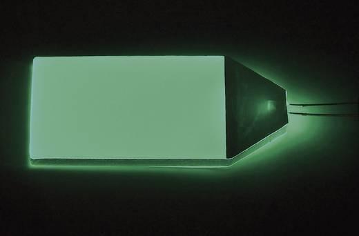 LED-es háttérvilágítás 51x32 mm zöld