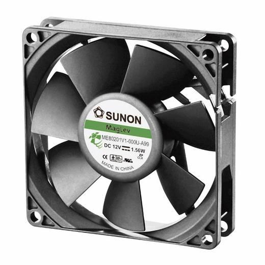 Axiális ventilátor (ipari), 12 V/DC 61.16 m³/h (Sz x Ma x Mé) 80 x 80 x 20 mm Sunon ME80201V1-000U-A99