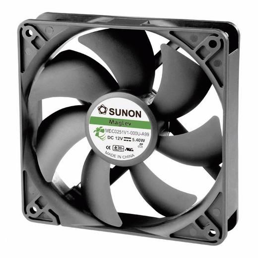 Axiális ventilátor (ipari), 12 V/DC 183.83 m³/h 120 x 120 x 25 mm Sunon MEC0251V1-000U-A99