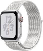 Apple 40 mm Alumínium ház Ezüst Sport karszalag Fehér Apple
