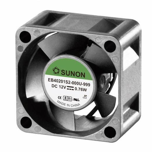 Axiális ventilátor (ipari), 12 V/DC 13.08 m³/h (Sz x Ma x Mé) 40 x 40 x 20 mm Sunon EB40201S2-000U-999