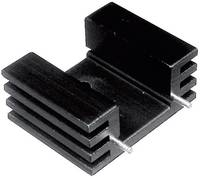 Hűtőborda 12,5 K/W 25 x 32 x 20 mm TO-220, Tru Components TC-V5229W-203 (1586580) TRU COMPONENTS