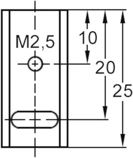 U hűtőborda TO 220 tokozatú tranzisztorokhoz ASSMANN WSW V5274B-T (H x Sz x Ma) 25 x 12 x 4.5 mm Rth K/W 60 K/W