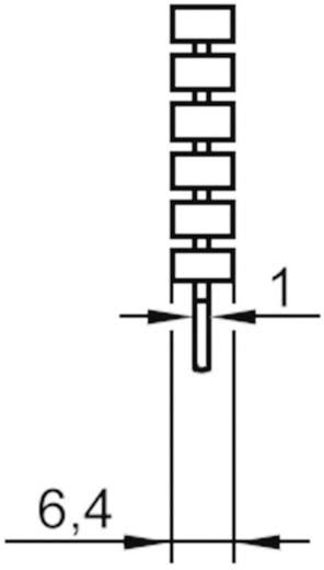 Speciális hűtőborda TO220-hoz ASSMANN WSW V5641B-T (H x Sz x Ma) 35.8 x 22.3 x 6.4 mm Rth K/W 21 K/W