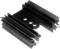 Hűtőborda 14 K/W 25,4 x 35 x 12,7 mm TO-220, TOP-3, SOT-32, Tru Components TC-V7477W-203 (1586611) TRU COMPONENTS
