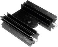 Hűtőborda 14 K/W 25,4 x 35 x 12,7 mm TO-220, TOP-3, SOT-32, Tru Components TC-V7477WC-203 (1586612) TRU COMPONENTS