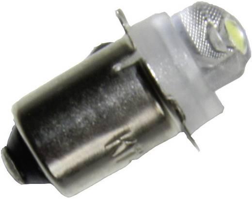 LED-es zseblámpaégő P13,5s foglalattal, 3 V/DC, fehér