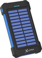 Xlayer Powerbank Plus 215869 Napelemes akkutöltő Töltőáram napelem (max.) 150 mA Kapacitás (mAh, Ah) 8000 mAh Xlayer