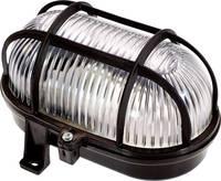 as - Schwabe Világítás nedves helyiségbe LED E27 60 W Fekete as - Schwabe