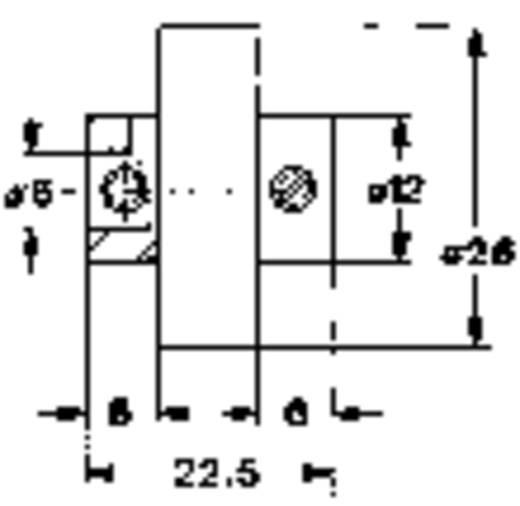 Csúszó tengelykapcsoló potméterhez, Mentor 716