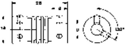 Csuklós tengely összekötő potméterhez, Mentor 717.6