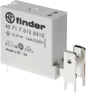 Finder 45.71.7.024.0310 Nyák relé 24 V/DC 16 A 1 záró 1 db Finder