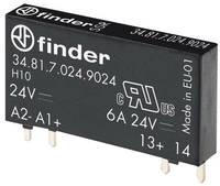 Finder Félvezető relé 1 db 34.81.7.005.9024 Kapcsolási feszültség (max.): 33 V/DC Azonnal kapcsoló Finder