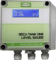 SecuTech Kijelző szintjelző érzékelőhöz SECU-TANK ONE HW000081 Mérési tartomány: 25 m (max) 1 db SecuTech