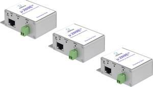 Renkforce RF-3684876 Hálózati hosszabbító 2 drótos Hatótáv (max.): 300 m 200 Mbit/s Renkforce