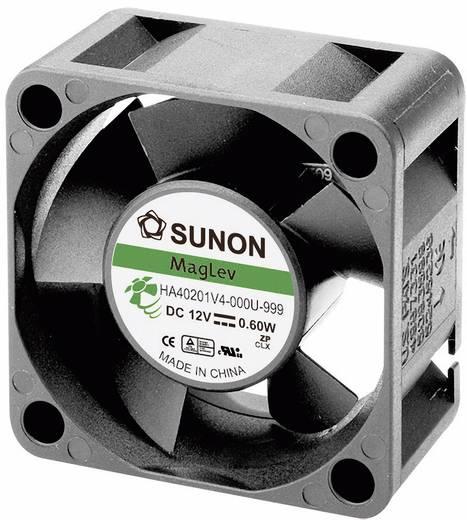 Axiális ventilátor (ipari), 12 V/DC 9 m³/h (Sz x Ma x Mé) 40 x 40 x 10 mm Sunon HA40101V4-0000-999