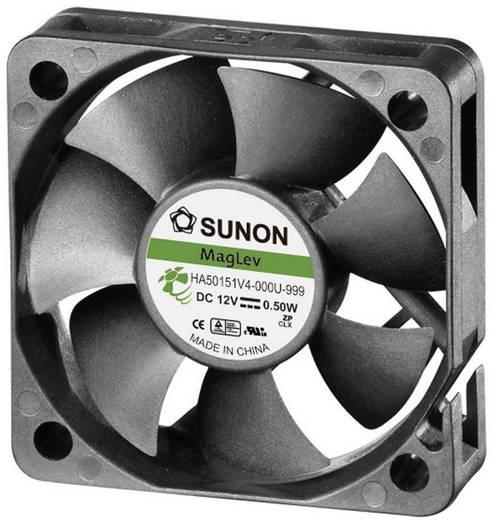 Axiális ventilátor (ipari), 12 V/DC 13.08 m³/h (Sz x Ma x Mé) 50 x 50 x 15 mm Sunon HA50151V4-0000-999