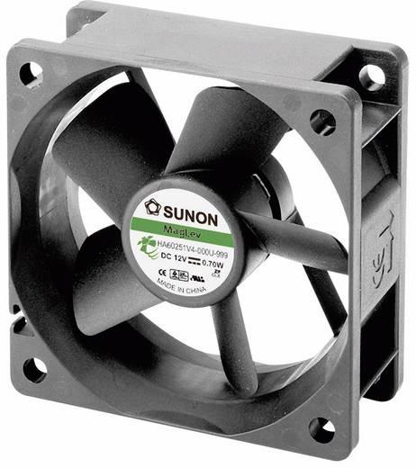 Axiális ventilátor (ipari), 12 V/DC 18.34 m³/h (Sz x Ma x Mé) 60 x 60 x 15 mm Sunon HA60151V4-0000-999