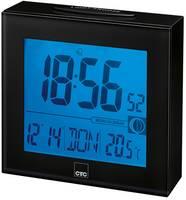 CTC 170250 Rádiójel vezérlésű Rádiójel vezérlésű óra Fekete Riasztási idők 1 (170250) CTC