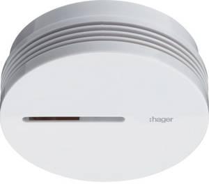 Hager TG600AL TG600AL Füstjelző Elemekről üzemeltetett Hager