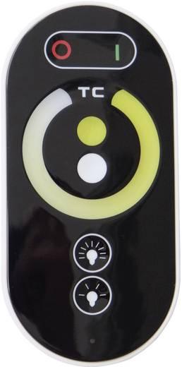 LED kontroller érintős rádiójel vezérlésű távirányítóval fehér LED csíkokhoz, Controlled white 12/24 V/DC