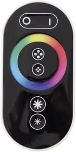 LED kontroller érintős rádiójel vezérlésű távirányítóval RGB LED csíkokhoz, 12/24 V/DC Barthelme