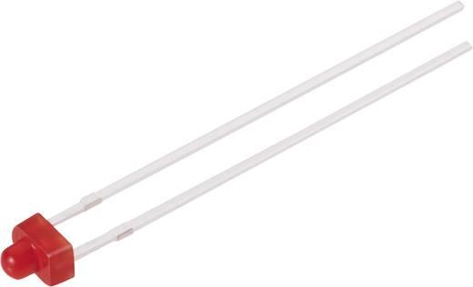 LED kivezetéssel Piros Íves 1.9 mm 1.6 mcd<b