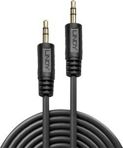 LINDY Jack Audio Csatlakozókábel [1x Jack dugó, 3,5 mm-es - 1x Jack dugó, 3,5 mm-es] 0.25 m Fekete (35640) LINDY