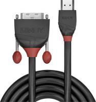LINDY HDMI / DVI Csatlakozókábel [1x HDMI dugó - 1x DVI dugó, 18+1 pólusú] 1.00 m Fekete LINDY