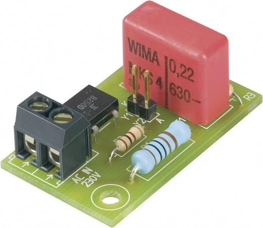 LED előtét panel, villódzásmentes, 230V/AC 18-20mA, 230LV20