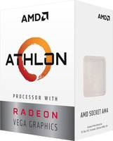 Boxed processzor AMD Athlon™ 200GE 2 x 3.2 GHz Dual Core Foglalat: AMD AM4 35 W (YD200GC6FBBOX) AMD