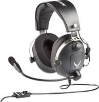 Thrustmaster Headset játékhoz 3,5 mm-es jack Vezetékes Over Ear Szürke, Fémes Thrustmaster