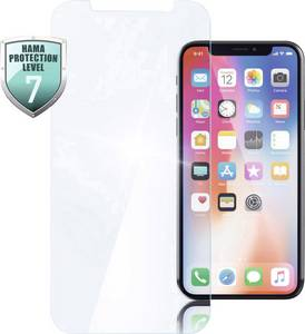 Hama Crystal Clear Kijelzővédő üveg Alkalmas: Apple iPhone XR 2 db Hama