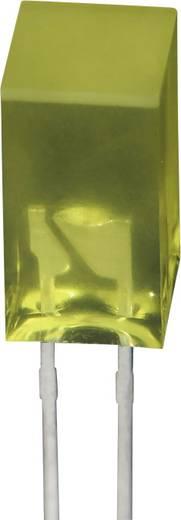 Négyszögletes LED sárga 5x5mm