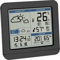 Vezeték nélküli digitális időjárásjelző állomás 2 napos előrejelzéssel, fekete, TFA Sky 35.1152.01 (35.1152.01) TFA Dostmann