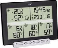 TFA Dostmann Multi-Sens Vezeték nélküli hőmérséklet- és légnedvesség mérő Fekete TFA Dostmann