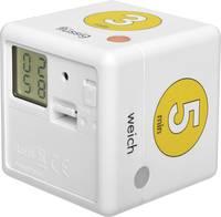 Visszaszámláló óra Fehér, Sárga digitális TFA Dostmann Cube Timer Ei  TFA Dostmann