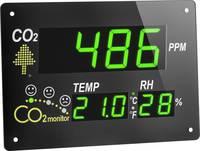 TFA Dostmann AirCo2ntrol Observer CO2 kijelző / CO2 mérőműszer Fekete TFA Dostmann