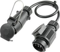 as - Schwabe 60467 Utánfutó adapter [Dugó, 13 pólusú - Csatlakozóalj, 7 pólusú] as - Schwabe