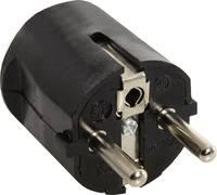 as - Schwabe 45032 Védőérintkezős dugó 230 V Fekete IP20 as - Schwabe